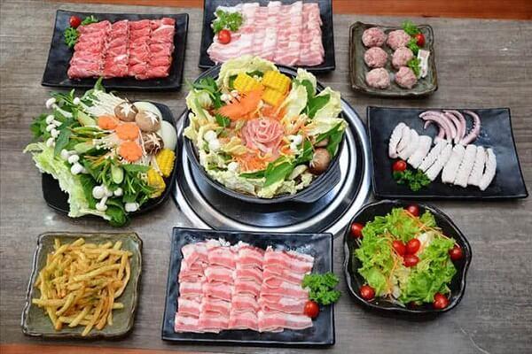 Sashimi BBQ - buffet lẩu nướng Nhật Bản