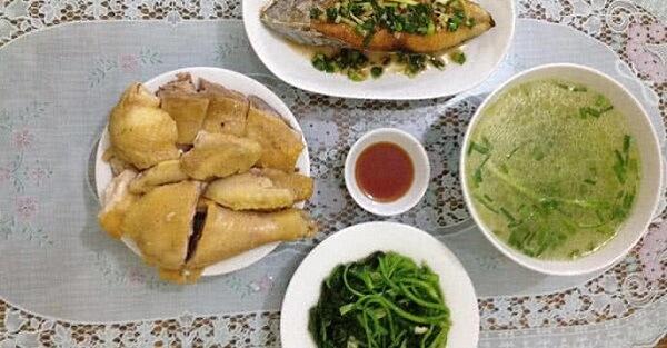 Giới thiệu thực đơn bữa cơm gia đình