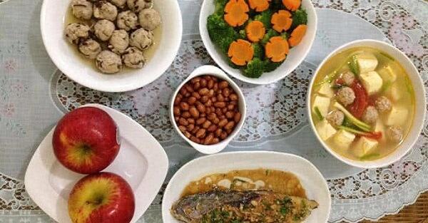 Giới thiệu mâm cơm hàng ngày cho gia đình