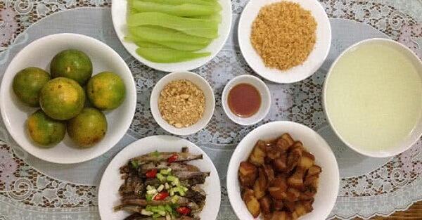 Món ăn mỗi ngày cho gia đình