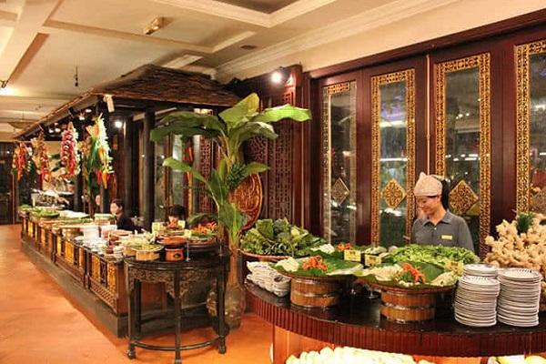 Sen Tây Hồ đã truyền tải trọn vẹn cái hồn của loại hình buffet đến thực khách