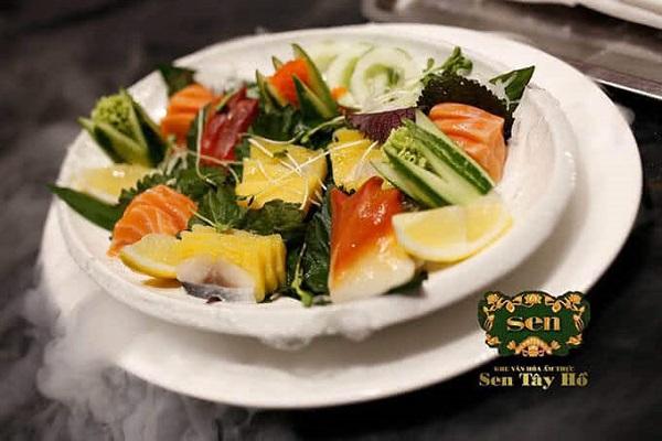 Nghệ thuật ẩm thực được trưng bày trên đĩa
