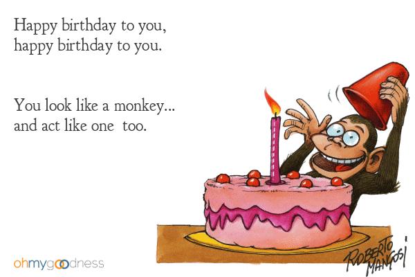 Những câu chúc mừng sinh nhật hài hước bá đạo
