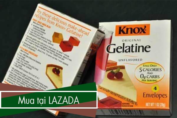 Mời bạn click vào banner để mua Gelatin tại Lazada nhé