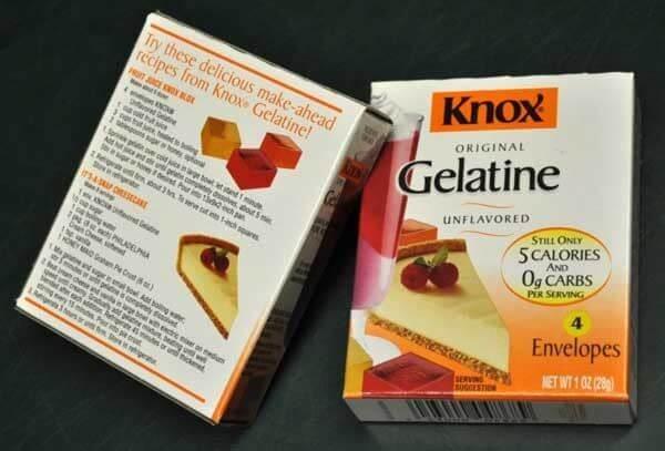 Bột Gelatin được biết đến rộng rãi trong việc sử dụng để chế biến thực phẩm như làm bánh, nấu thạch