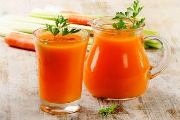 Sinh tố cà rốt, bí đỏ