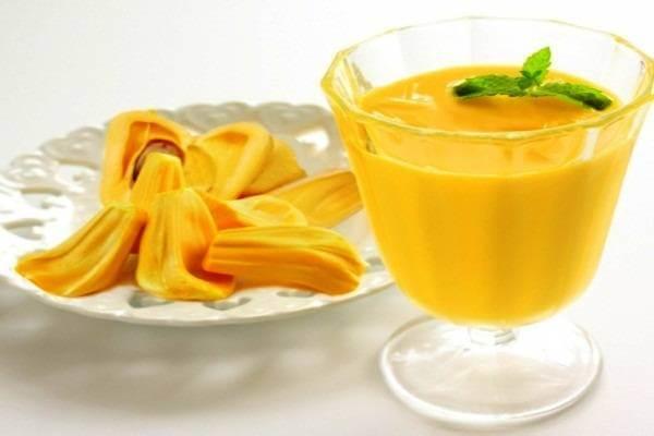 Sinh tố mít, sữa chua