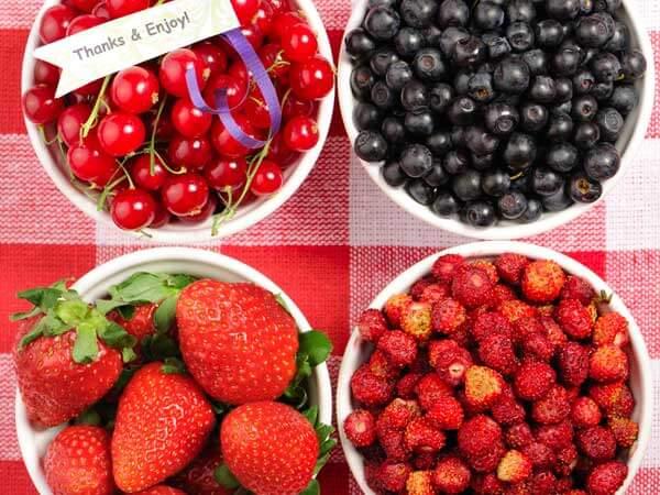 Các loại quả mọng rất giàu chất chống oxy hóa