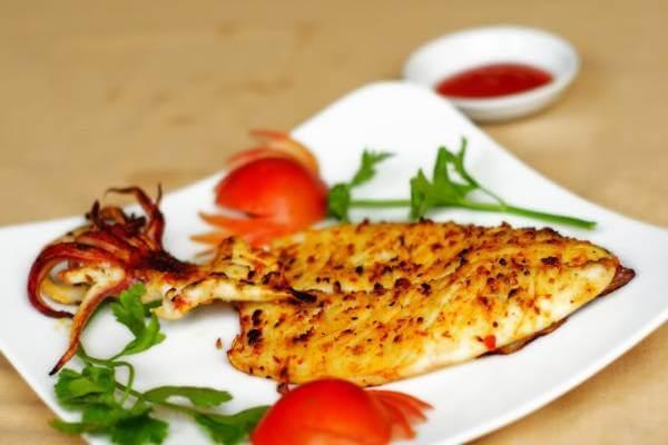 Mực nướng chao - chế biến món ăn từ mực tươi
