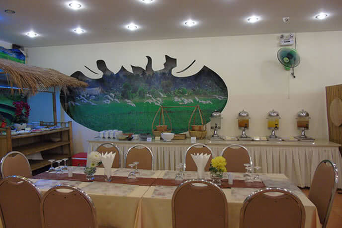 Không gian mang đậm văn hóa Việt
