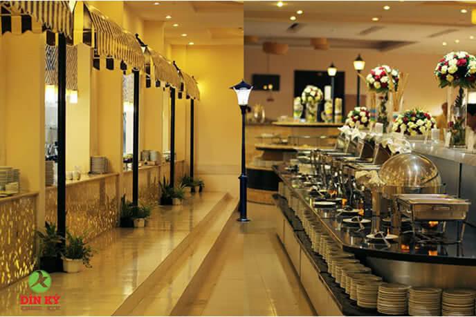 Nhà hàng Dìn Ký – Buffet của những người sành ẩm thực
