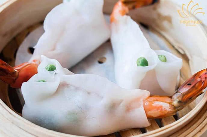Hương vị Á Đông đặc sắc được gói lại trong món ăn