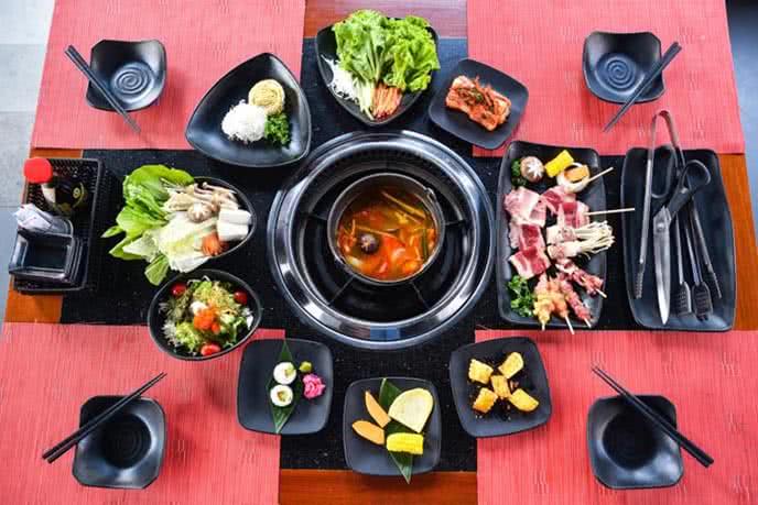 Hot N Tasty phục vụ 5 vị lẩu đa dạng cho bạn lựa chọn