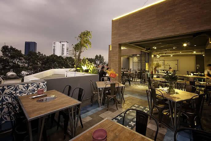 Không gian nhà hàng mới mẻ, hấp dẫn