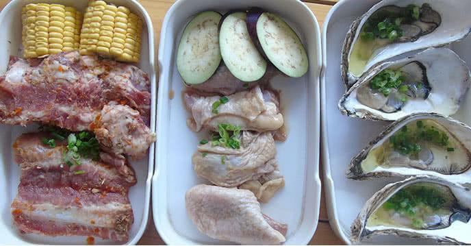Từ thịt bò hảo hạng cho đến hải sản tươi ngon