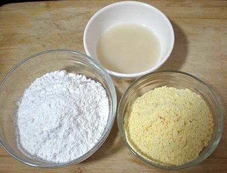 Nguyên liệu làm bánh mì chà bông phô mai