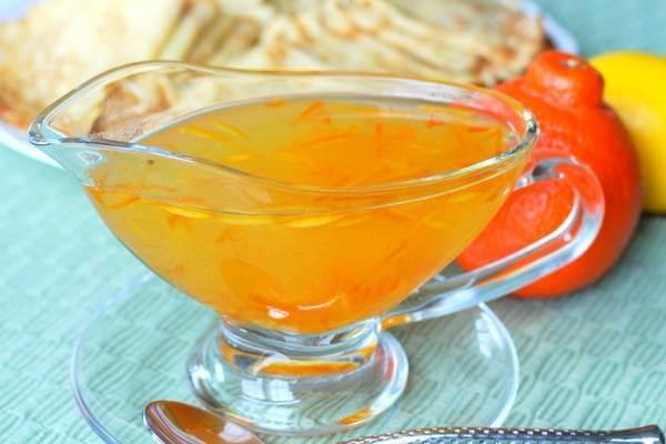 Sốt nước cam ngọt