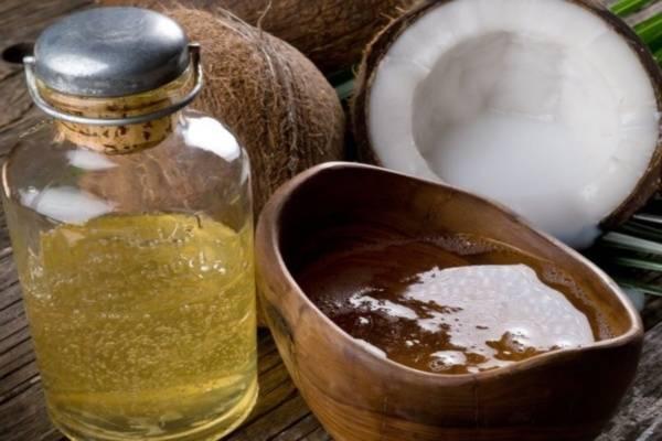 Tinh dầu dừa thành phẩm bằng phương pháp đun