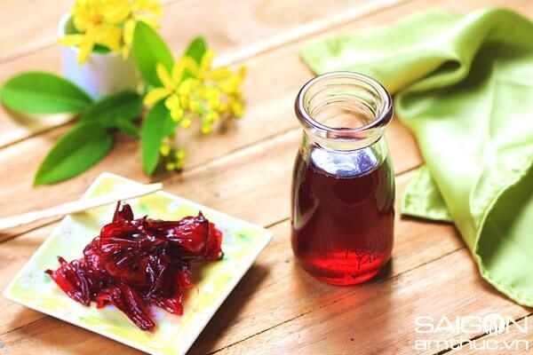 Cách Làm Siro Hoa Atiso Đỏ (Hoa Bụt Giấm) Ngon Tại Nhà