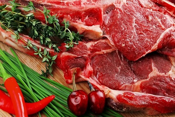 Thịt bò phi lê: 300g
