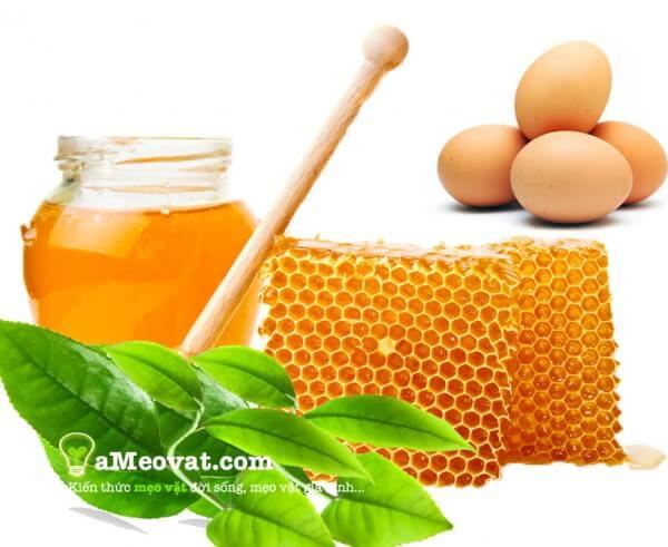 Cách dưỡng da bằng dầu dừa kết hợp với mật ong và trứng gà - dầu dừa dưỡng da