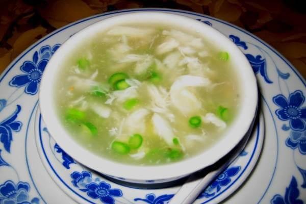 Súp măng cua - món súp cho bé