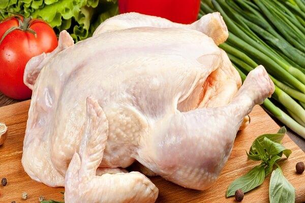 1 con gà khoảng 1,5kg.