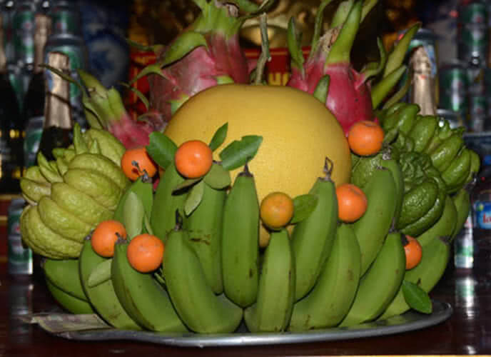 Một số cách bày xếp mâm ngũ quả đẹp ngày Tết hợp phong thủy