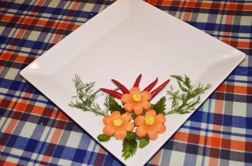 Trang trí món ăn đơn giản