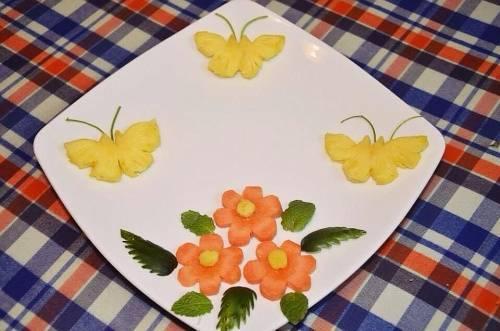 Cách trang trí món ăn đãi tiệc