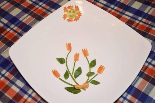 Cách trình bày món ăn đẹp mắt