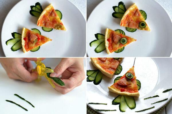 Cách trang trí đồ ăn