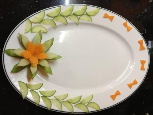 Cách trang trí món ăn đơn giản