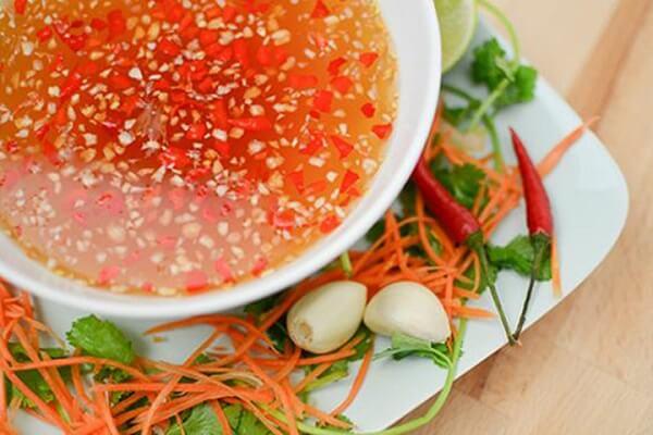 Nước mắm tỏi ớt cho các món Việt