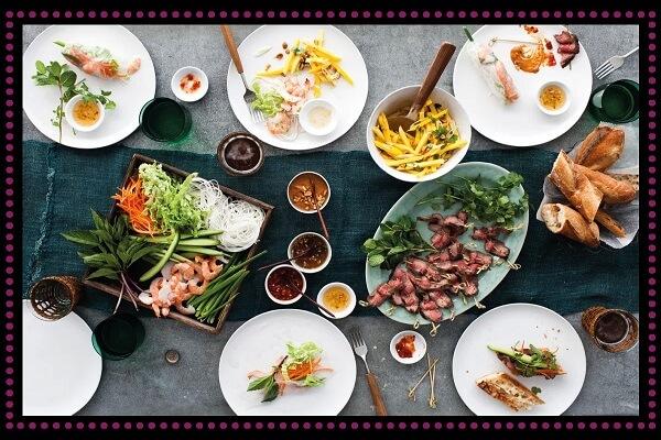 Các món ăn Việt Nam chủ yếu làm từ rau củ quả nên ít mỡ