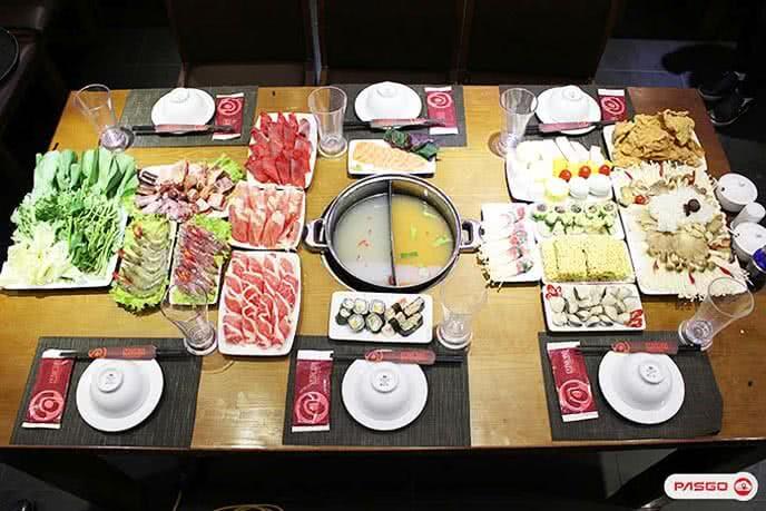 Nhà hàng buffet băng chuyền Lẩu Nấm Muru – Số 157 Láng Hạ, Quận Đống Đa