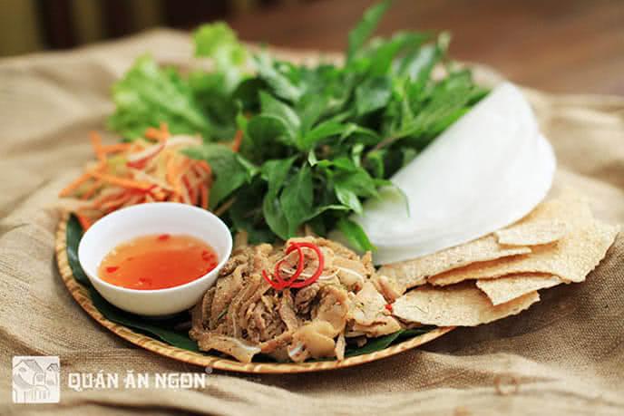 Các món ăn trong thực đơn đều được nghiên cứu, lựa chọn cẩn thận