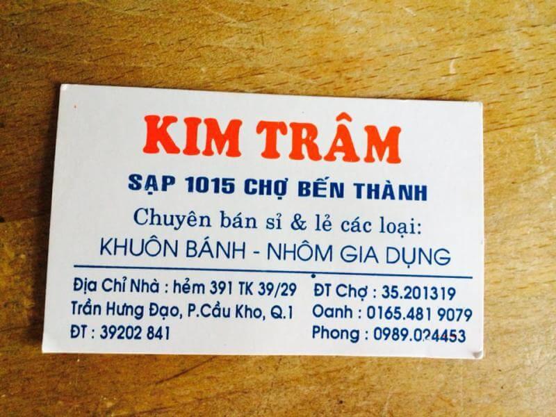Sạp 1015 - Kim Trâm - Chợ Bến Thành