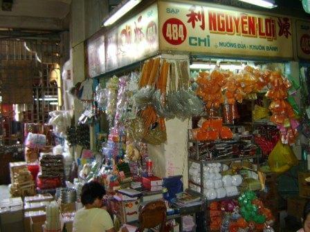 Sạp Nguyên Lợi - Địa chỉ: Trong lồng chợ Bình Tây