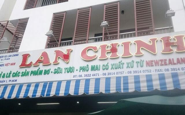 Cửa hàng nguyên liệu Lan Chinh