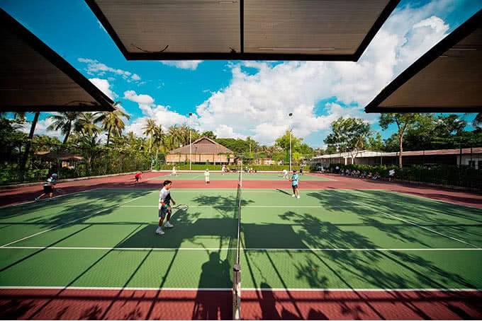 Sân Tennis hiện đại