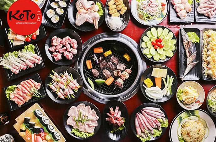 Koto BBQ Sushi Kim Mã như một bức tranh văn hóa ẩm thực đặc sắc