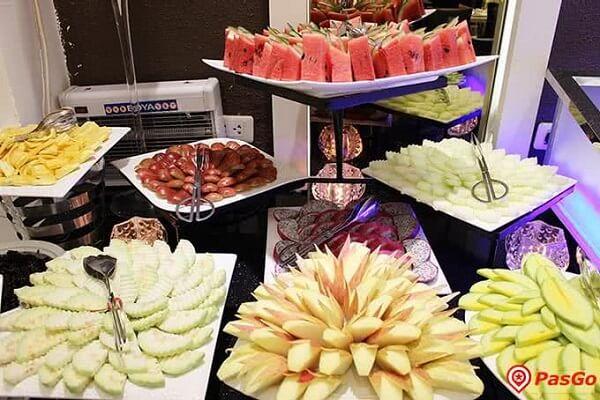 Hoa quả tráng miệng Buffet Sứ 64 Nguyễn Du