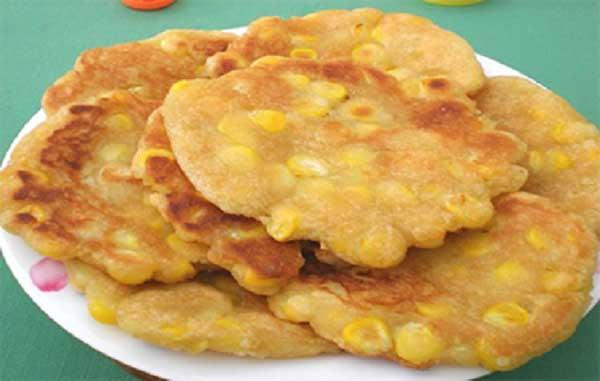 Trình bày và Thưởng thức bánh ngô chiên sữa dừa