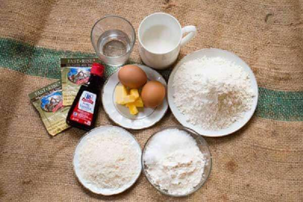 Nguyên liệu làm bánh rán nhân su kem