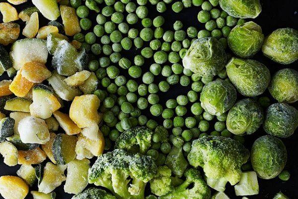 Trái cây, rau củ đông lạnh chỉ sau vài phút.