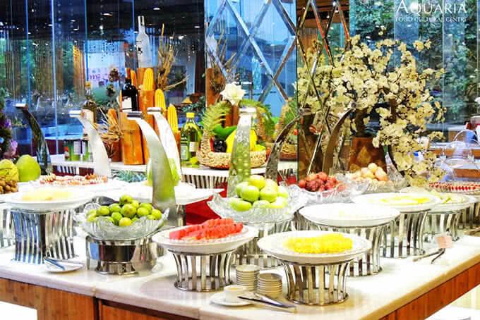 Buffet Năm Châu - Bản giao hưởng hài hòa của những hương vị