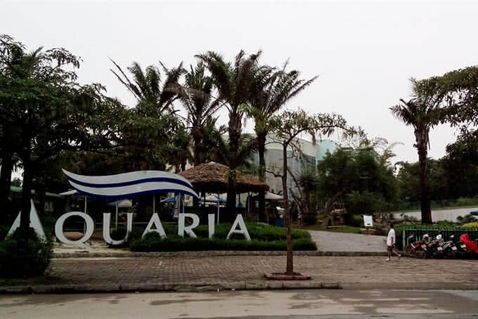 Thu hút khách bằng vẻ thanh khiết và không gian tươi xanh rộng lớn của Aquaria Mỹ Đình