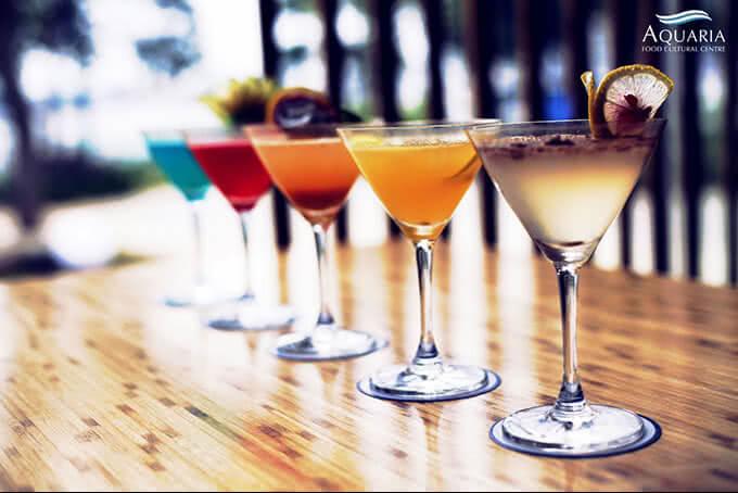 Đồ uống được các bartender chuyên nghiệp pha chế