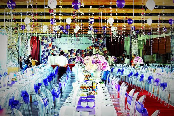 Sảnh chính Pacific hoặc Atlantics là những hội trường cưới hoàn hảo